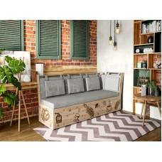 Кухонная скамья Роденго угловая (спальное место)