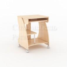 Компьютерный стол КС-600 bonso колесики, миниатюрный
