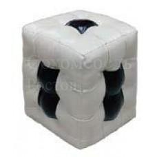 Пуф Domino мягкий с оригинальными вставками