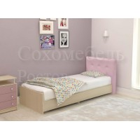 Детская кровать с мягкой спинкой Улыбка
