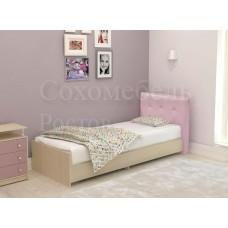 Детская кровать с мягкой спинкой из набора Domisol