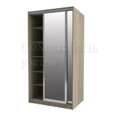 Шкаф-купе Версаль 1.4 зеркало+зеркало
