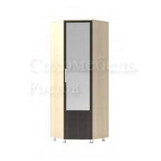 Шкаф угловой с зеркалом Quadro