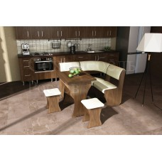Кухонный угол Perfect 1 mini portative классический укороченный симметричный с раскладным столом