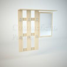 Вешалка настенная Дуэт (зеркало)