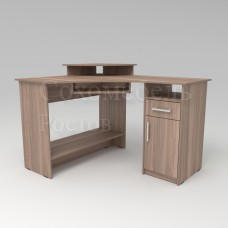 Стол компьютерный Diplomat 1 угловой стол с ящиком и дверкой