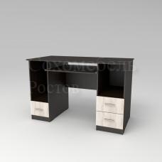 Стол компьютерный Persona 4 прямой с ящиками слева и справа