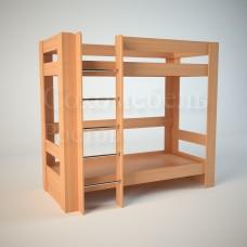 Детская двухярусная кровать Гулливер