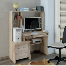 Компьютерный стол Classic оборудован всем необходимым для подноценного рабочего места